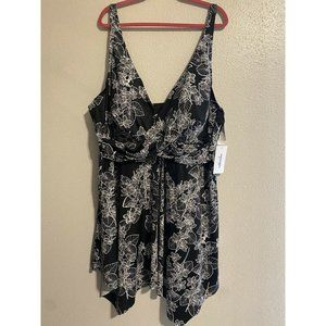 Swimsuits For All Women's Plus Size 34 Two Piece